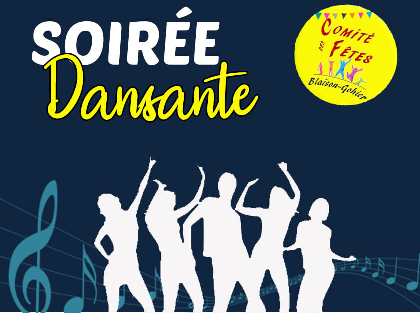 Soirée dansante organisée par le comité des fêtes de Blaison-Gohier