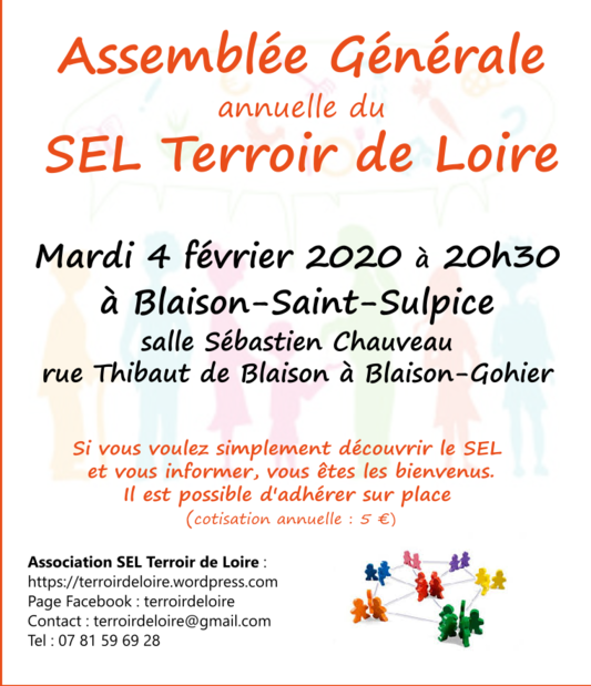 Assemblée générale du SEL Terroir de Loire