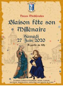 Millénaire de Blaison @ bourg de Blaison | Blaison-Saint-Sulpice | Pays de la Loire | France
