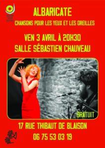 Albaricate - ANNULÉ @ Salle Sébastien Chauveau | Blaison-Saint-Sulpice | Pays de la Loire | France