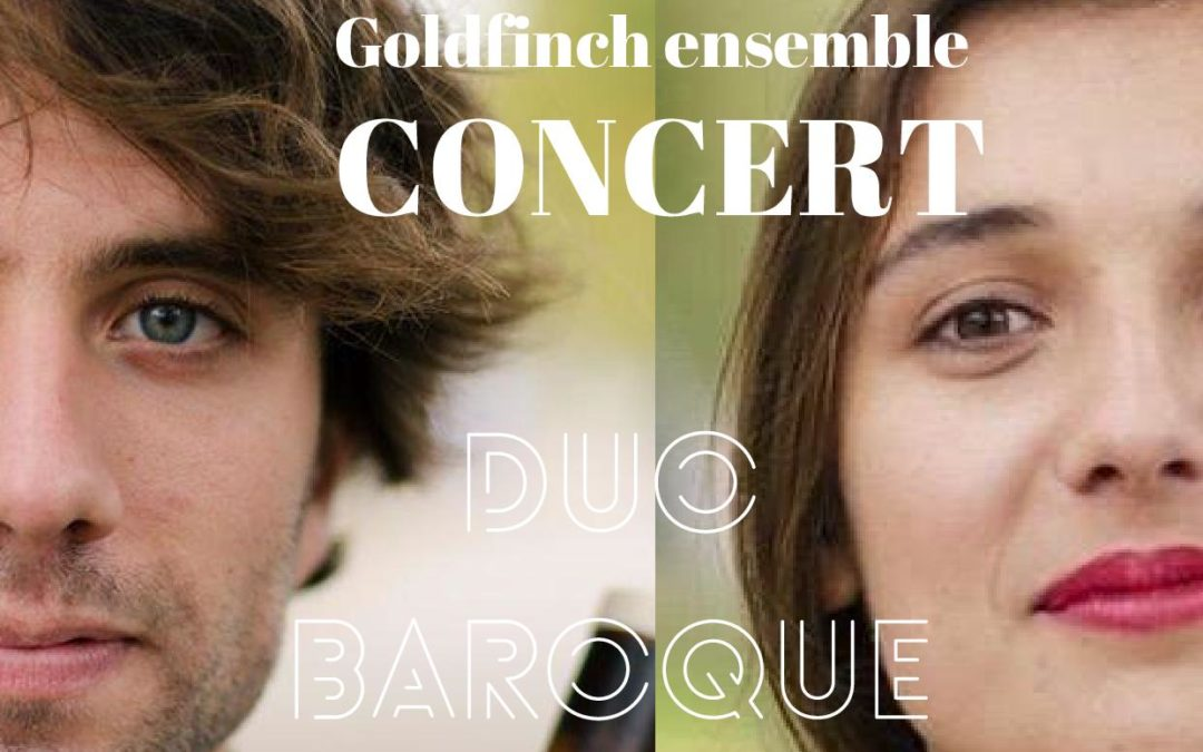 Mardi 28 juillet à 20h30 : Goldfinch, duo baroque