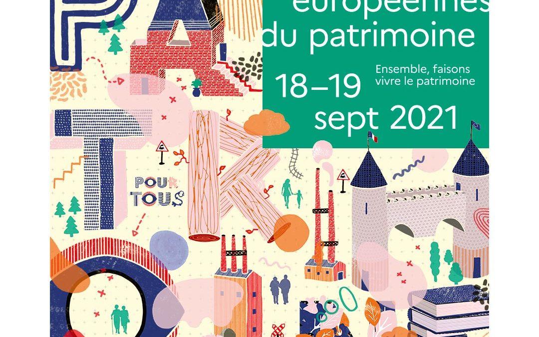 18 et 19 septembre : Journées Européennes du Patrimoine